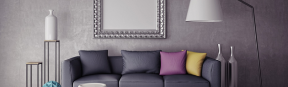 Leather or Fabric Sofa